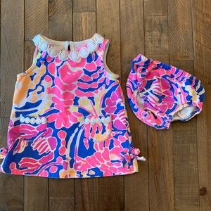 Lilly Pulitzer outfit 3-6 months